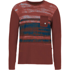 E9 Freedom Long Sleeve Shirt Herre wine